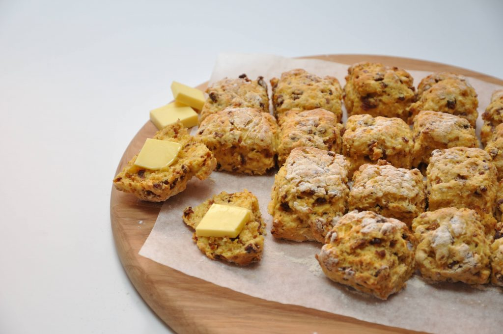 Date and carrot scones